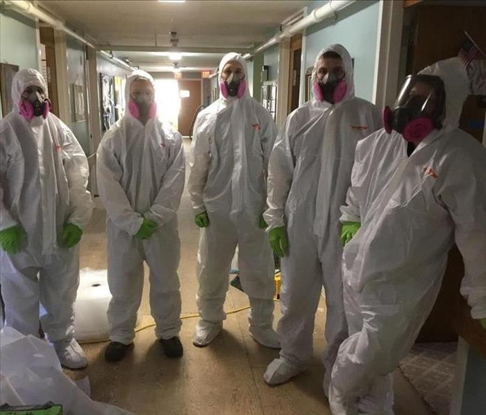 Why SERVPRO Personal Protective Equipment