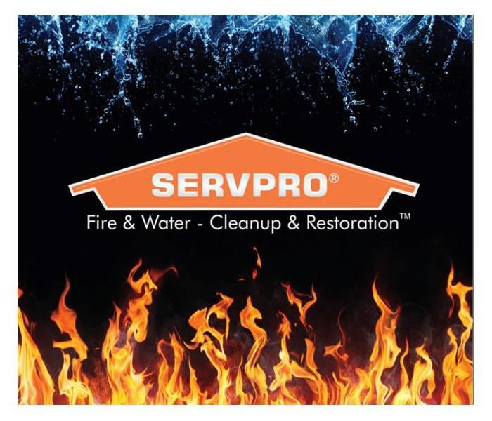 SERVPRO fire/water logo